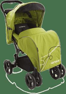 BABYPOINT Sprinter športový kočík – Zelený