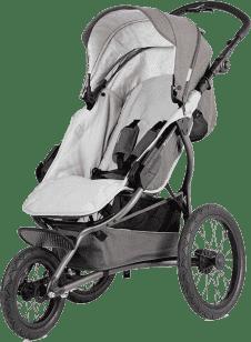 X-LANDER Wózek sportowy X-Run, Stone Grey