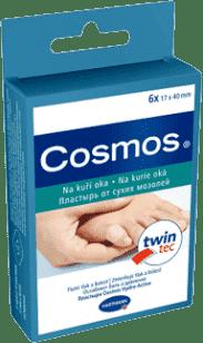 COSMOS Plaster na kurzajki 6 szt.