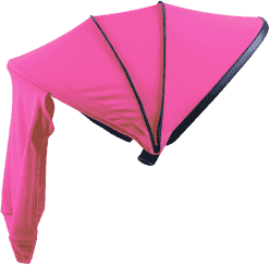 PETITE&MARS Stříška Neoprene Pink ke kočárku - Street