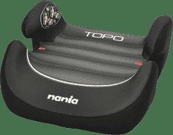 NANIA Topo Comfort Graphic Black First 15-36 Kg