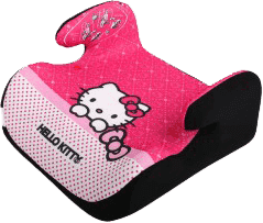 NANIA Podsedák Topo Comfort Hello Kitty First 2015 (15-36 kg)
