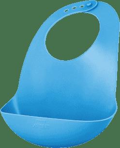 AVENT Śliniak plastikowy z kieszonką niebieski