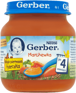 GERBER Marchewka (125g)