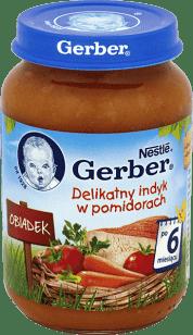 GERBER Delikatny indyk w pomidorach (190g)