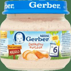 GERBER Delikatny kurczak (80g)
