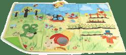 BABYBIRDS Veľká hracia deka Na zahrádke