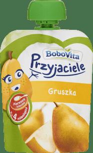 Expirace 30.6.2016: BOBOVITA Mus owocowy w tubce gruszka 80 ml