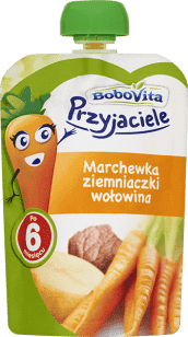 Data ważności 22.06.2016: BOBOVITA Obiadek w tubce marchewka, ziemniaczki, wołowina 130 G