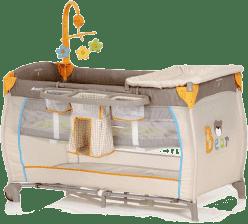 HAUCK Cestovná postieľka Babycenter Bear 2016