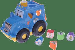 MIKRO TRADING Traktor vkladací - červená