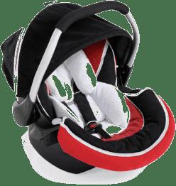 HAUCK Fotelik samochodowy Zero Plus Select red/black 2016