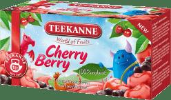 TEEKANNE Čaj Cherry Berry, 20 sáčků