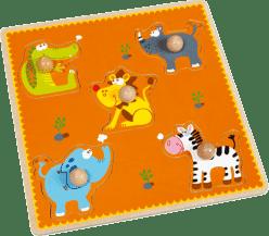 SCRATCH Układanka planszowa / puzzle Afryka