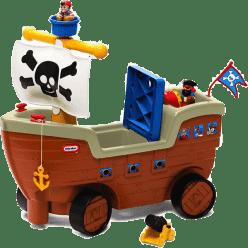 EPLINE Little tikes pirátska loď odrážadlo so zvukmi