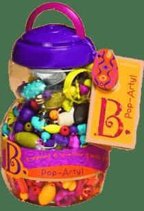 B-TOYS Spojovacie korále a tvary Pop Arty