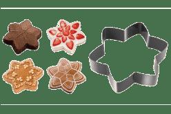 TESCOMA Forma na pečení a vykrajovátka hvězda DELÍCIA
