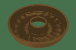 TESCOMA Bábovka věnec Delícia silicone 26 cm hnědá