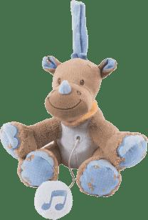 NATTOU Zabawka grająca Nosorożec Louis 18 cm