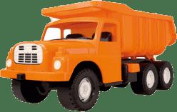 DINO Ciężarówka Tatra pomarańczowa