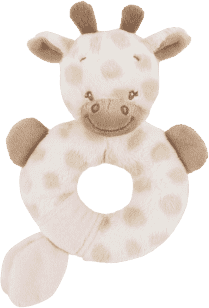 NATTOU Chrastítko žirafa Charlotte