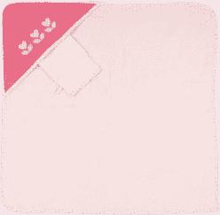 NATTOU Ręcznik z kapturkiem Rose & Charlotte