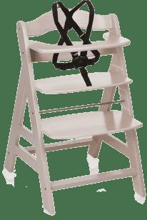 HAUCK Jídelní židlička Alpha+B whitewashed 2016