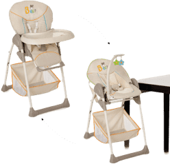 HAUCK Jídelní židlička Sit N Relax Bear 2016