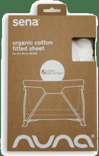 NUNA Poťah Na Sena Organic Sheet - white