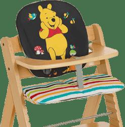 HAUCK Výplň k jedálenskej stoličke Hochstuhl Auflage Pooh Tidy Time 2016