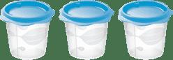 TESCOMA Dóza na detské pokrmy BAMBINI 150ml, 3ks - modrá
