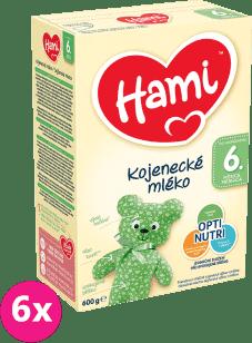 6x HAMI 2 (600g) - dojčenské mlieko