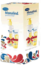 MENALIND Professional, Balíček, malý-krém na ruky + telové mlieko