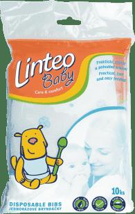 LINTEO Baby Jednorázové bryndáčky 10ks