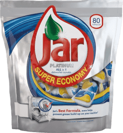 JAR Platinum kapsle na mytí nádobí 80ks