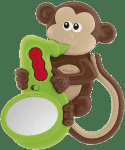 CHICCO Grzechotka Małpka / dźwięki i światełko
