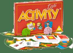 PIATNIK Activity Deti (CZ, SK) - spoločenská hra