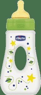 CHICCO Fľaša Well-Being 0% BPA, 250ml slza, kaučuk, Rýchly prietok