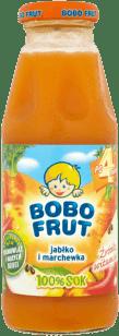 BOBO FRUT 100% sok jabłko i marchewka (300ml)