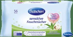 BÜBCHEN Sensitive 56 ks - vlhčené obrúsky