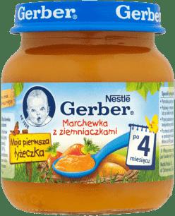 GERBER Marchewka z ziemniaczkami (125g)