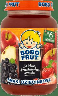 BOBO FRUT Jabłko truskawka aronia (185g)