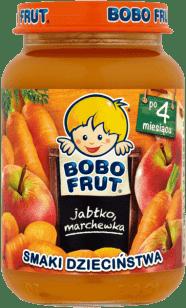 BOBO FRUT Jabłko marchewka (185g)