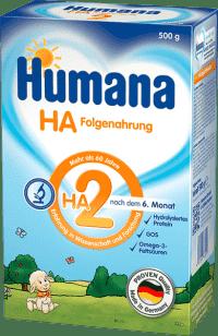 HUMANA HA 2 (500g) – kojenecké mléko