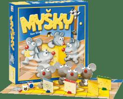 PIATNIK Myšky (CZ, SK) - spoločenská hra