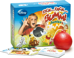 PIATNIK Tik Tak Bum Junior WALT DISNEY (CZ,SK) – společenská hra