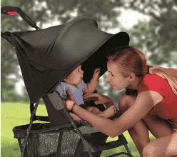 SUMMER INFANT Stínítko na kočárek RayShade UVA, UVB 50+ UPF