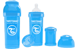 TWISTSHAKE Antikoliková láhev 260ml Modrá