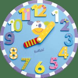 BOIKIDO dřevěné Hodiny puzzle