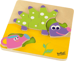 BOIKIDO drevené Puzzle Ježko Gaston